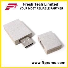 OEM reciclado de papel USB Flash Drive (D834)