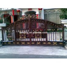 Galvanisiertes automatisches Eisenschwingen Tor oder Türen für Wohnsitz oder Landhaus