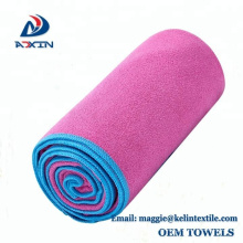 Fabricante profesional para la toalla de la microfibra de la toalla de la toalla de los deportes del yoga del gimnasio
