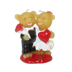 Lovely Animal Candle Bear Shaped Paraffin Candles