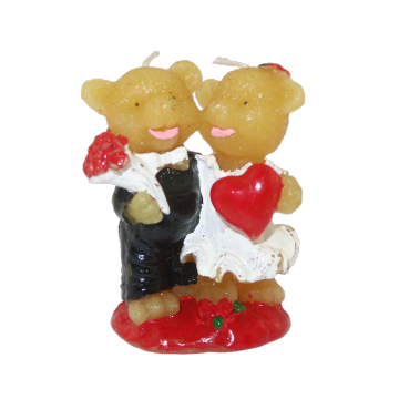 Lovely Animal Candle Bear-vormige paraffine kaarsen