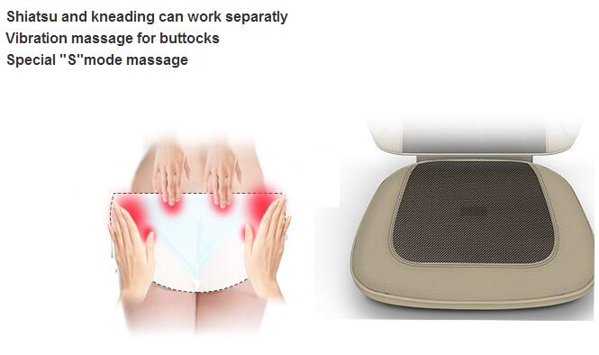 Multifunctional Shiatsu Car Massage Cushion