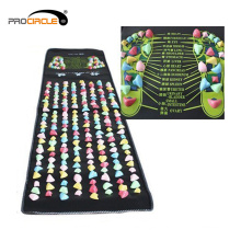 Reflexología Pebble Foot Massage Mat Pebble Mat