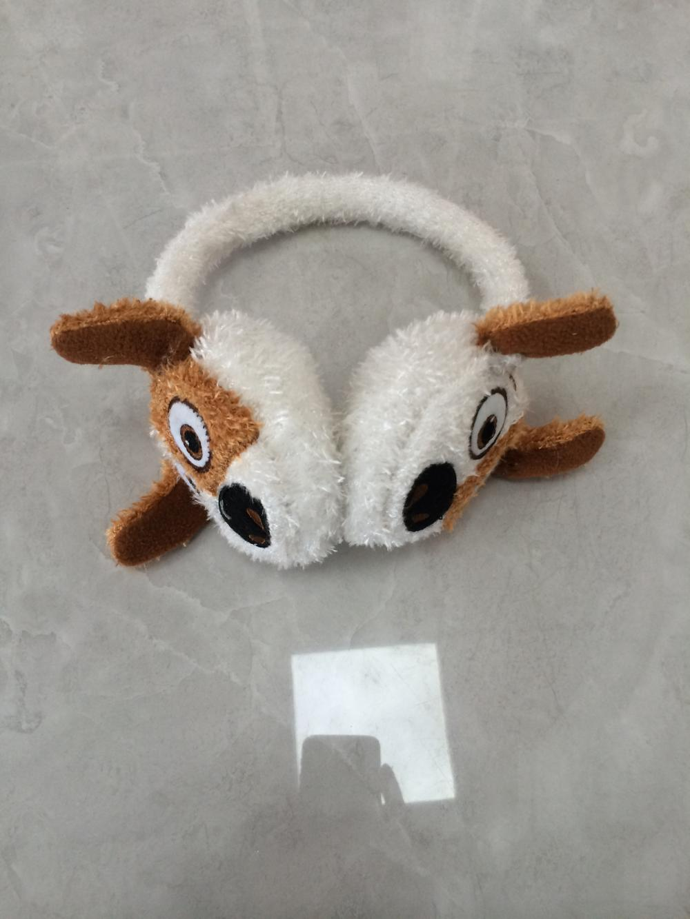 Animal Warm Feather Yarn Cute Ear Muff