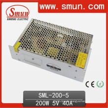 200W LED Driver Lighting Designed Power Supply