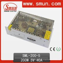 Fonte de alimentação projetada da iluminação do motorista do diodo emissor de luz 200W