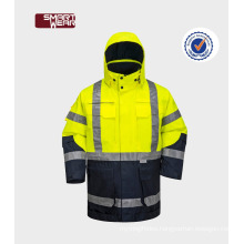 Safety work jacket Hi-Vis reflective jacket security jacket for men workwear