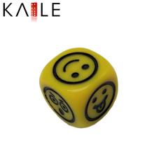 15 мм желтый круглый угол Гравирует кубики