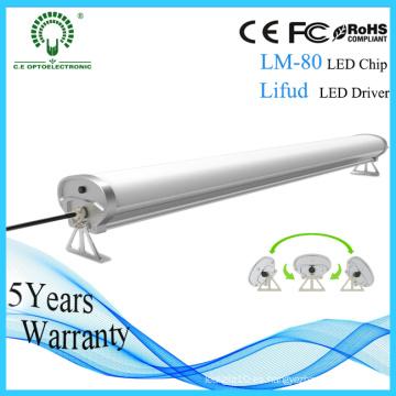 5 años de garantía 0.6m 30W IP65 prenda impermeable Tri-Proof Light