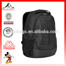 Hot Sell Fashion Black Polyester Backpack Laptop Bags