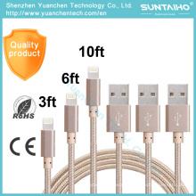 Cabo de carregamento de dados USB de alta qualidade para iPhone 6 6s