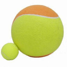 Jumbo Tennis Ball, Inflatable, Made of Rubber and Nonwoven Felt, Suitable for Promotions