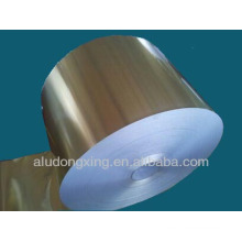 Ar condicionado folha de alumínio 3102 condensador fin
