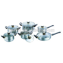 Silver Stainless Steel Sauce Pans