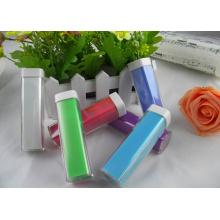 Banco colorido do poder do batom plástico de Hotsell
