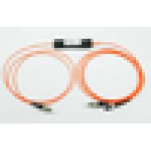 1 * 2 FBT Divisores de fibra óptica fc a fc sma, 1x2 fbt acoplador para FTTH, LAN, PON y CATV óptico
