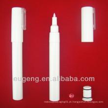 Embalagens plásticas de cosméticos para lápis de unha