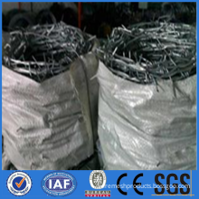 Galvanized twist barbed wire for military