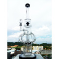 Black Arm Tree and Honeycomb Glass Water Pipe