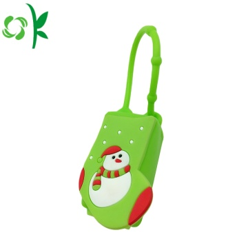 Cartoon Silicone Mini Cartoon Chủ Cover cho Sanitizer