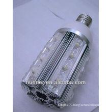 220v 110v 100-240v e40 алюминий привело кукурузы колбы e27 24w 24 светодиода свет Шэньчжэнь