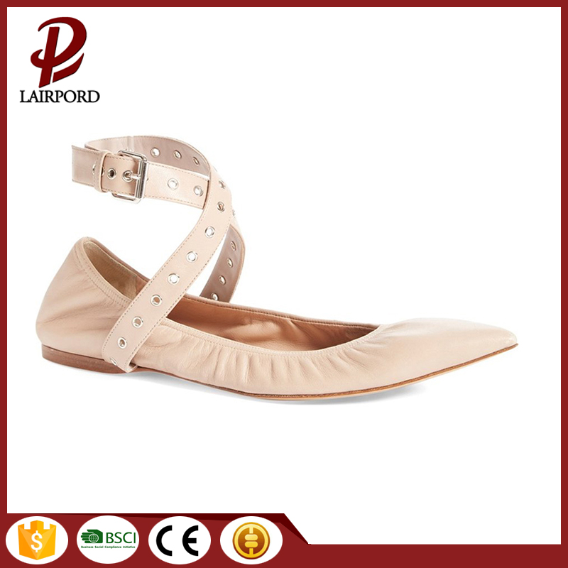 lovely flat loafers shoes leather one strap