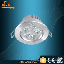 Alto brillo 1440lm 18 * 1W empotrado LED luz de techo