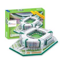 Material de papel 106PCS Stadium Kids Toy 3D Puzzle Game 10173061
