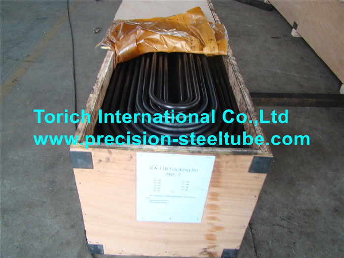SA192 U Shaped Heat Exchanger and Shell Seamless Steel Tubes