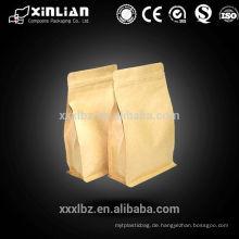 Hochwertiges Kraftpapier mattbraun 250g Kaffeebeutel