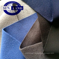 china manufacturer 100% polyester interlock bonded polar fleece clothing fabric