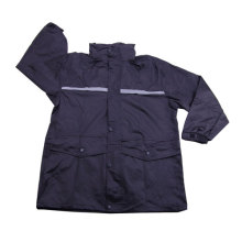 men's waterproof nylon raincoat with zipper
