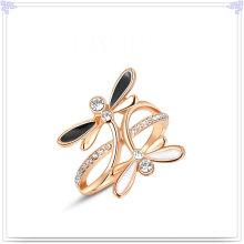 Art- und Weiseschmucksache-Kristallschmucksache-Legierungs-Ring (AL0034RG)