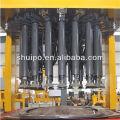 Tête de réservoir hydraulique formant la machine (machine de camion de réservoir)