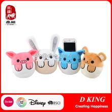 Phone Holder Aniamls Stuffed Plush Toy