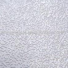 Feuille en aluminium estampé en stuc pour la construction
