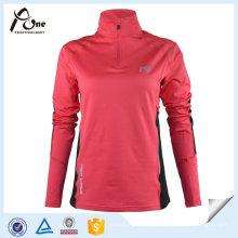 Benutzerdefinierte Sportbekleidung Frauen Polo-Shirts mit langen Ärmeln