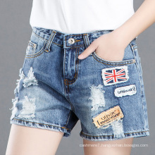 Factory Wholesale Women Shorts Denim Short Jean Pants