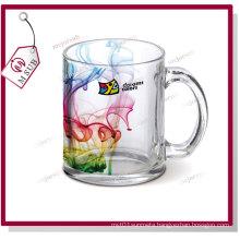 11oz Sublimation Transparent Glass Mug with Custom Design