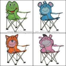 crianças, cadeira de praia animal de dobramento