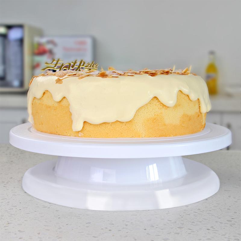 plastic cake stand Cake turntable decorating tools