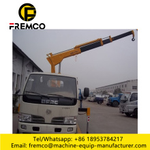Truck with Crane with Self Tipping Box