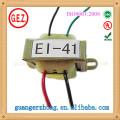 RoHS CQC 4.0w-7.0w ei 41 ei transformateur de puissance de stratifié