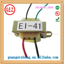 RoHS CQC 4.0w-7.0w ei 41 high quality power transformer