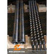 Screw Barrel for PE PP Extruder Extrusion Screw Barrel