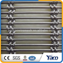 Stainless Steel Architectural Decorative Wire Mesh for wall cladding