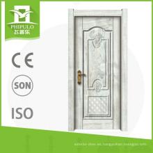 Puerta interior compuesta de madera del diseño principal de lujo para el construaction de China