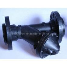 3 pulgadas Jieming neumático Y patrón válvula de diafragma Dn80