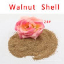 Walnuss-Shell-Medien für die Wasseraufbereitung Ölentfernung