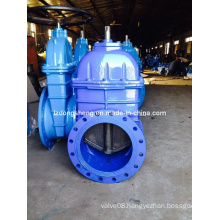 Big Size Resilient Seated Flanged Gate Valve, Pn 10/16, DIN